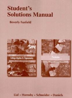 College Algebra and Trigonometry and Precalculus (Paperback)