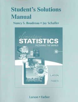 Elementary Statistics Student's: Picturing the World (Paperback)
