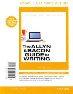 The Allyn & Bacon Guide to Writing (Other book format)