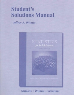 Statistics for the Life Sciences (Paperback)