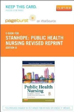 Public Health Nursing Pageburst on VitalSource Access Code: Population-Centered Health Care in the Community (Other merchandise)