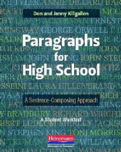 Paragraphs for High School: A Sentence-Composing Approach (Paperback)