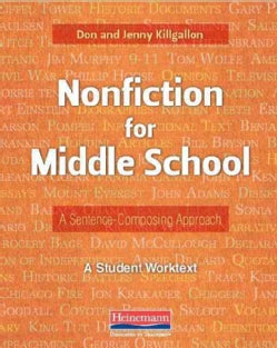 Nonfiction for Middle School: A Sentence-composing Approach (Paperback)