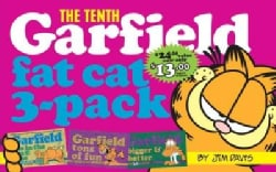 The Tenth Garfield Fat Cat 3-Pack: Garfield Life in the Fat Lane (#28); Garfield Tons of Fun (#29); Garfield Big... (Paperback)