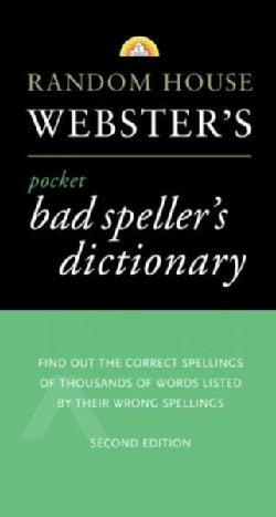Random House Webster's Pocket Bad Speller's Dictionary (Paperback)