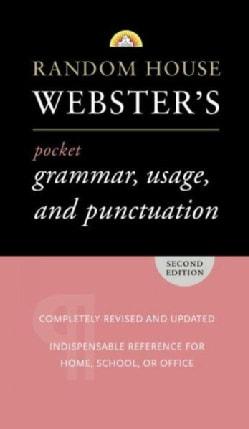 Random House Webster's Pocket Grammar, Usage, and Punctuation (Paperback)