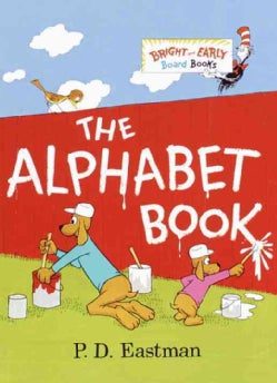 The Alphabet Book (Board book)
