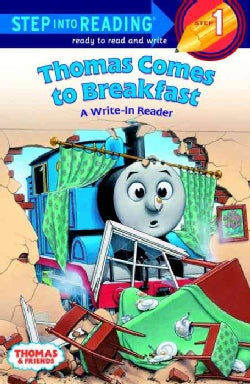 Thomas Comes to Breakfast: A Write-In Reader : Step 1 (Paperback)
