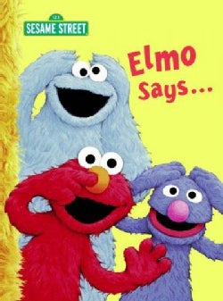 Elmo Says... (Board book)
