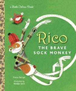 Rico the Brave Sock Monkey (Hardcover)