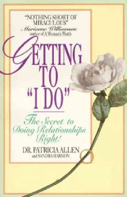 "Getting to ""I Do"" (Paperback)"