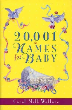 20,001 Names for Baby (Paperback)