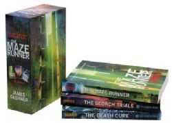 The Maze Runner Trilogy: The Death Cure / the Scorch Trials / the Maze Runner (Paperback)