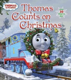 Thomas Counts on Christmas (Board book)