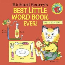 Richard Scarry's Best Little Word Book Ever! (Paperback)
