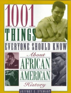 1001 Things Everyone Should Know About African American History (Paperback)