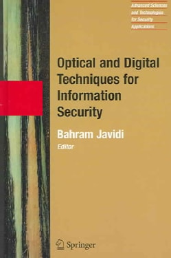 Optical and Digital Techniques for Information Security (Hardcover)