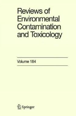 Reviews of Environmental Contamination and Toxicology (Hardcover)