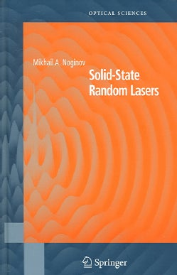 Solid-state Random Lasers (Hardcover)