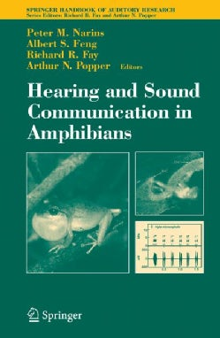 Hearing And Sound Communication in Amphibians (Hardcover)
