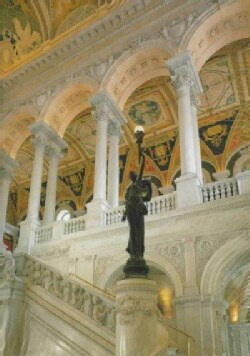 The Library of Congress: The Art and Architecture of the Thomas Jefferson Building (Hardcover)