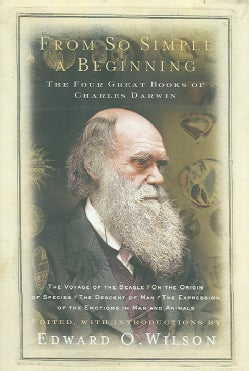 From So Simple A Beginning: The Four Great Books Of Charles Darwin (Hardcover)