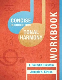 Concise Introduction to Tonal Harmony (Paperback)