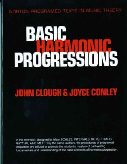 Basic Harmonic Progressions: A Self-Instruction Program (Paperback)