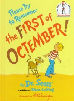 Please Try to Remember the First of Octember! (Hardcover)