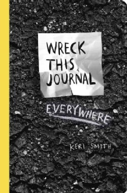 Wreck This Journal Everywhere (Record book)