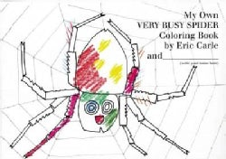 My Own Very Busy Spider Coloring Book (Paperback)
