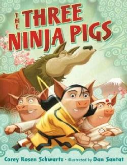 The Three Ninja Pigs (Hardcover)