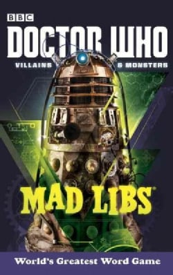 Doctor Who Villains and Monsters Mad Libs (Paperback)