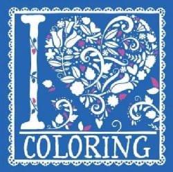 I Heart Coloring (Paperback)