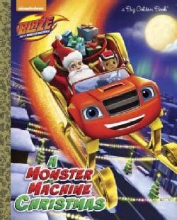 A Monster Machine Christmas (Hardcover)