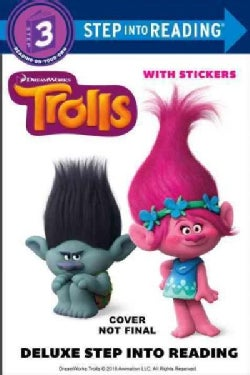 Trolls: Step into Reading With Stickers (Paperback)