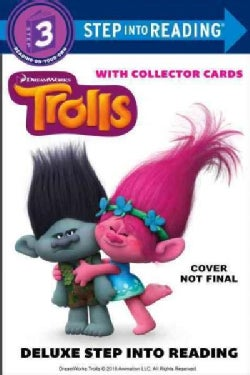 Trolls: Step into Reading With Collector Cards (Paperback)