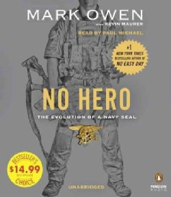 No Hero: The Evolution of a Navy Seal (CD-Audio)