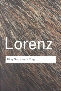 King Solomon's Ring: New Light on Animal Ways (Paperback)