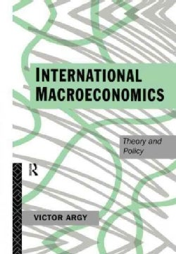 International Macroeconomics: Theory and Policy (Paperback)