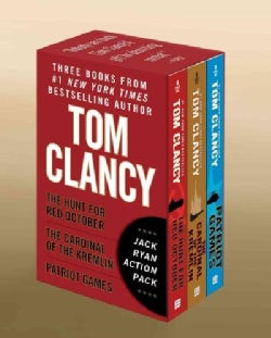 Tom Clancy's Jack Ryan: The Hunt for Red October / the Cardinal of the Kremlin / Patriot Games (Paperback)