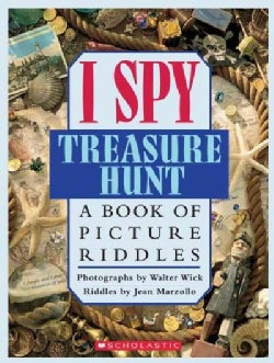 I Spy Treasure Hunt: A Book of Picture Riddles (Hardcover)
