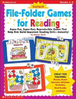 Instant File-Folder Games for Reading (Paperback)