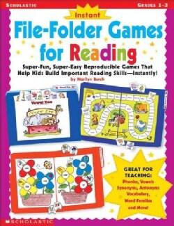 Instant File-Folder Games for Reading (Paperback)
