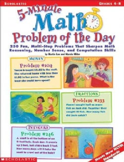5-Minute Math Problem of the Day (Paperback)