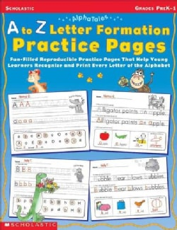 Alphatales: A to Z Letter Formation Practice Pages (Paperback)