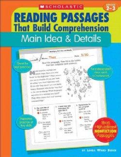 Main Idea & Details (Paperback)