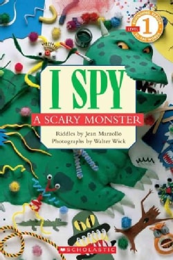 I Spy a Scary Monster (Paperback)