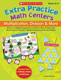 Extra Practice Math Centers: Multiplication, Division & More (Paperback)