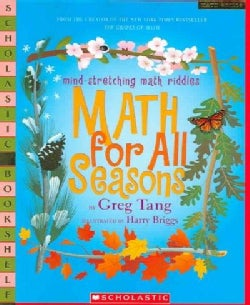 Math For All Seasons: Mind-Stretching Math Riddles (Paperback)